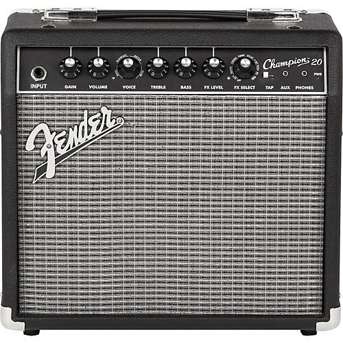 Fender 2330200000 Champion 20 Guitar Amp W/FX