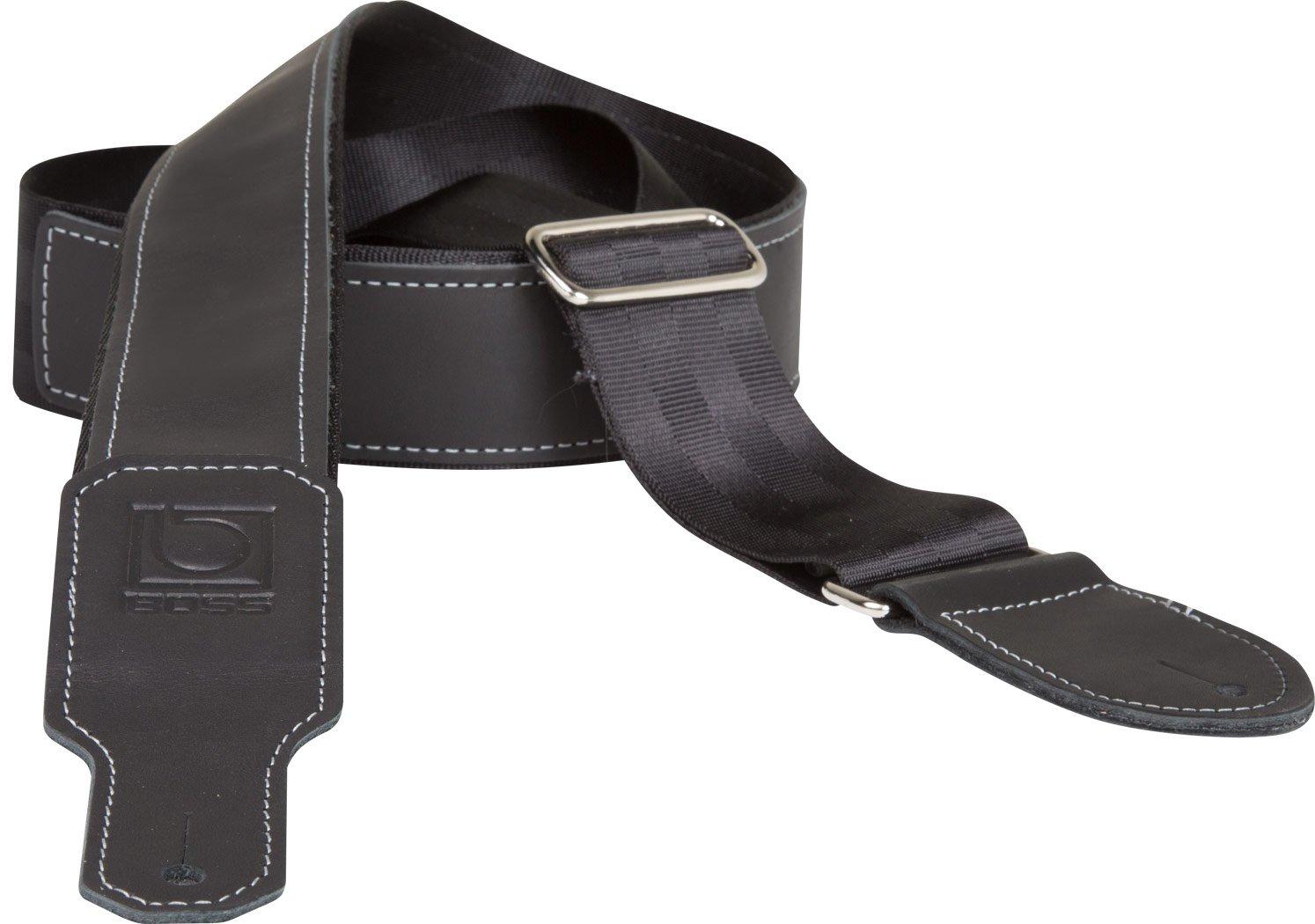 Boss 2 Hybrid Leather/Seatbelt Geetar Strap