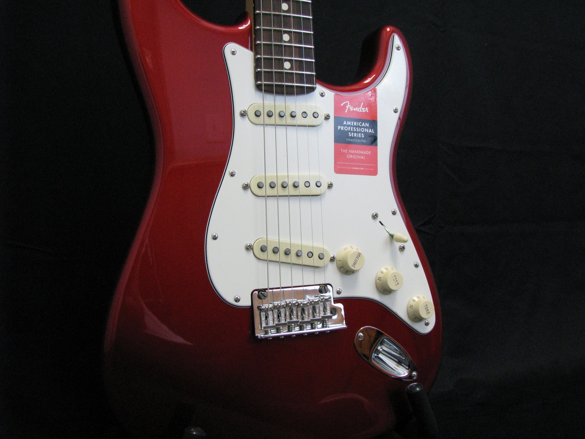 Fender Candy Apple Red American Professional Stratocaster Rosewood Fingerboard