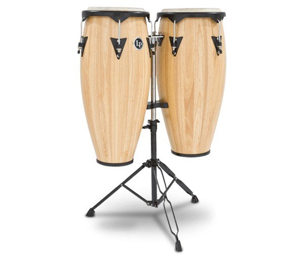 Aspire Conga Drums City Series w/Black Stand
