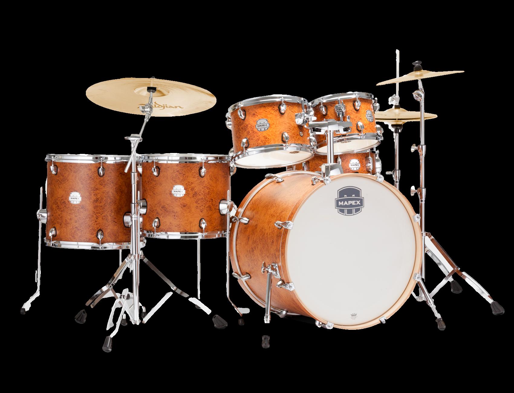 Mapex 6pc Kit W/Ziljdian Cymbals