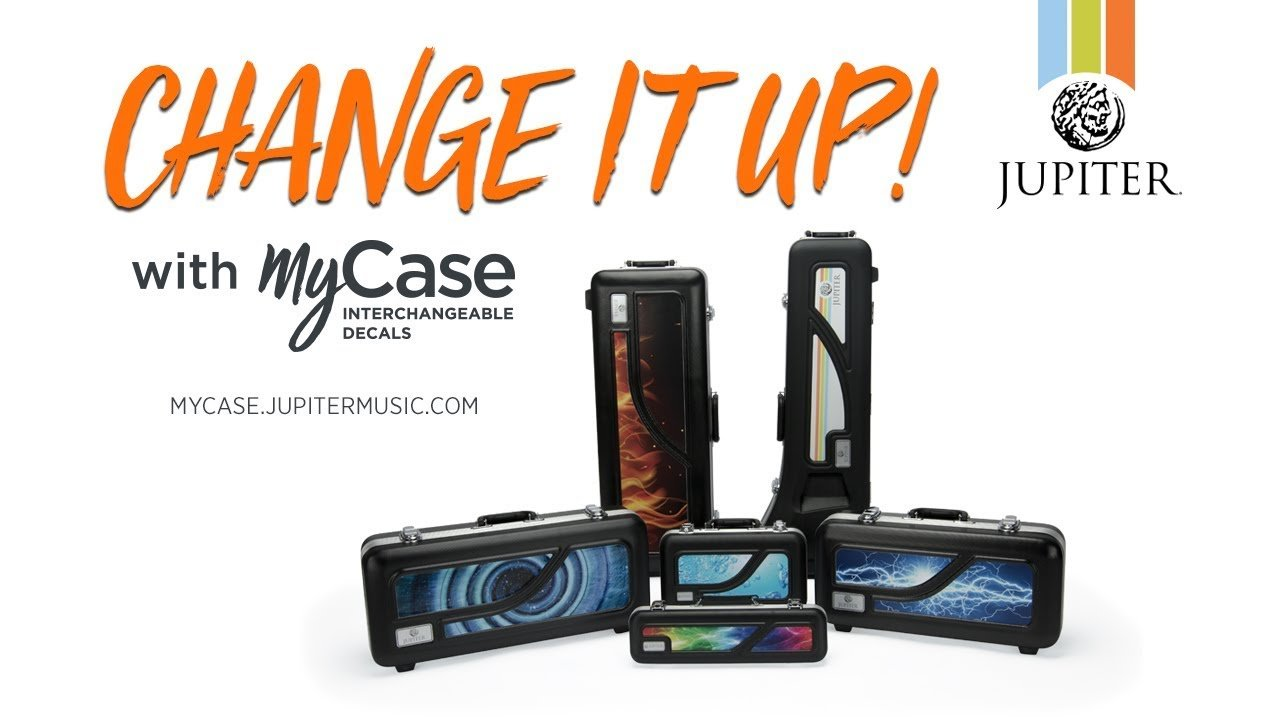 MyCase Removable Decal Alto Sax