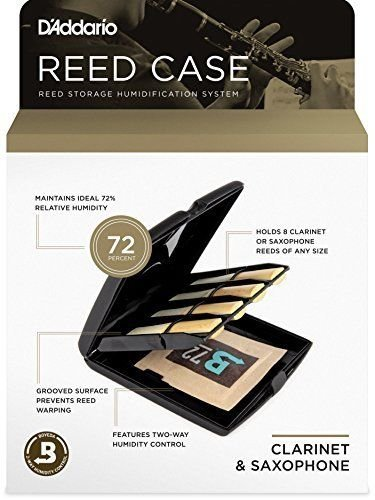 Multi-Instrument Reed Revitalizer Case with Humidity Pack