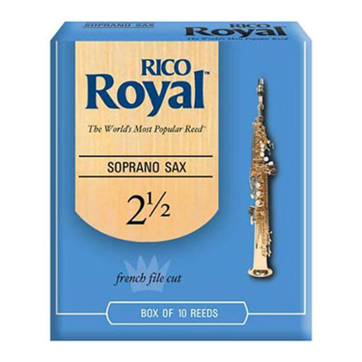 Rico Royal Soprano Saxophone Reed 2.5