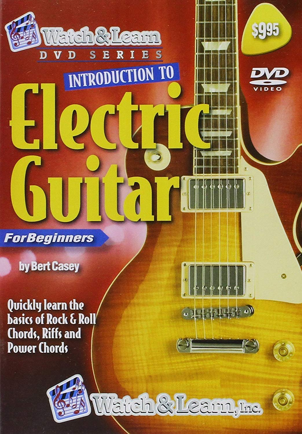 Intro to Electric Guitar DVD