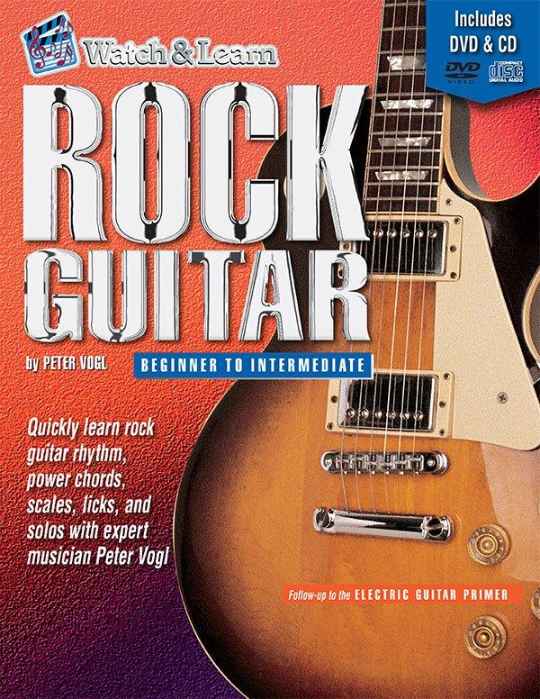 Rock Guitar Beginner to Intermediate w/DVD (Watch and Learn)