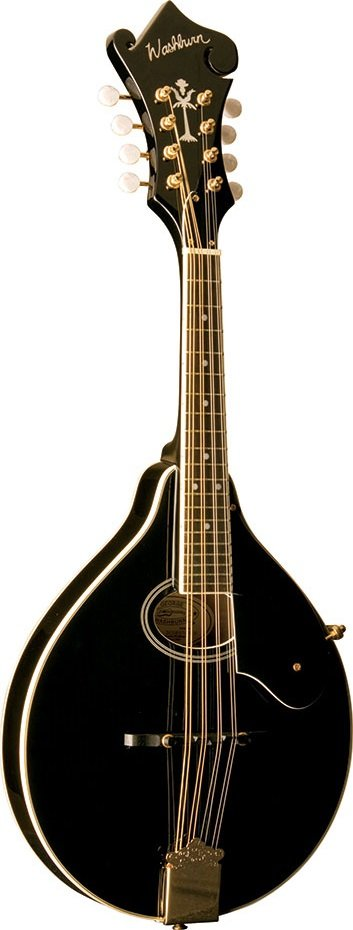 Washburn A Style Mandolin Black