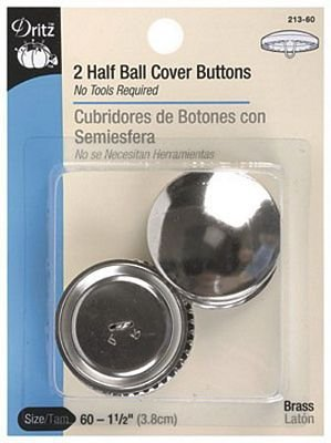 Button Cover Kit 1 1/2