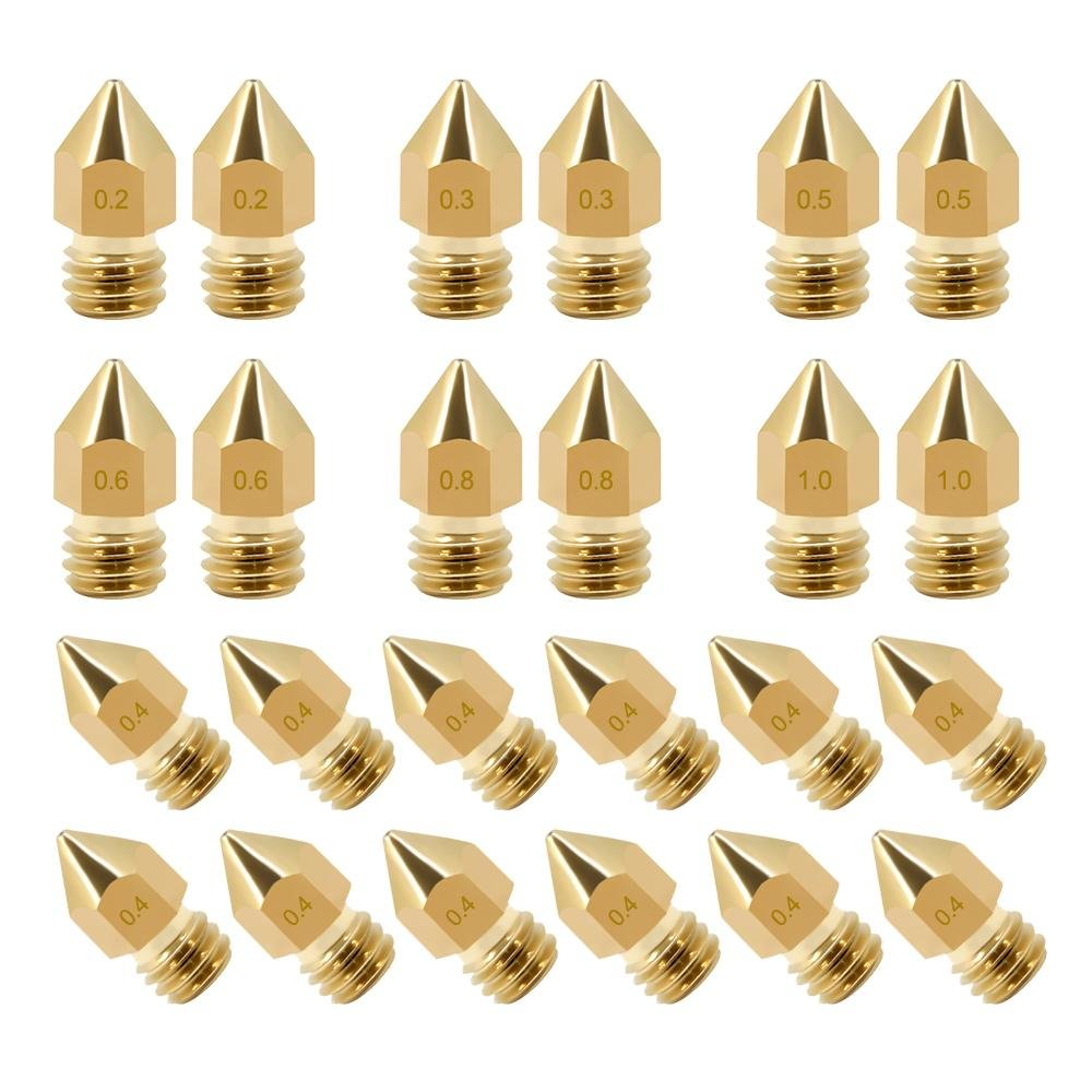 MK8 Nozzles Package, 24pc.