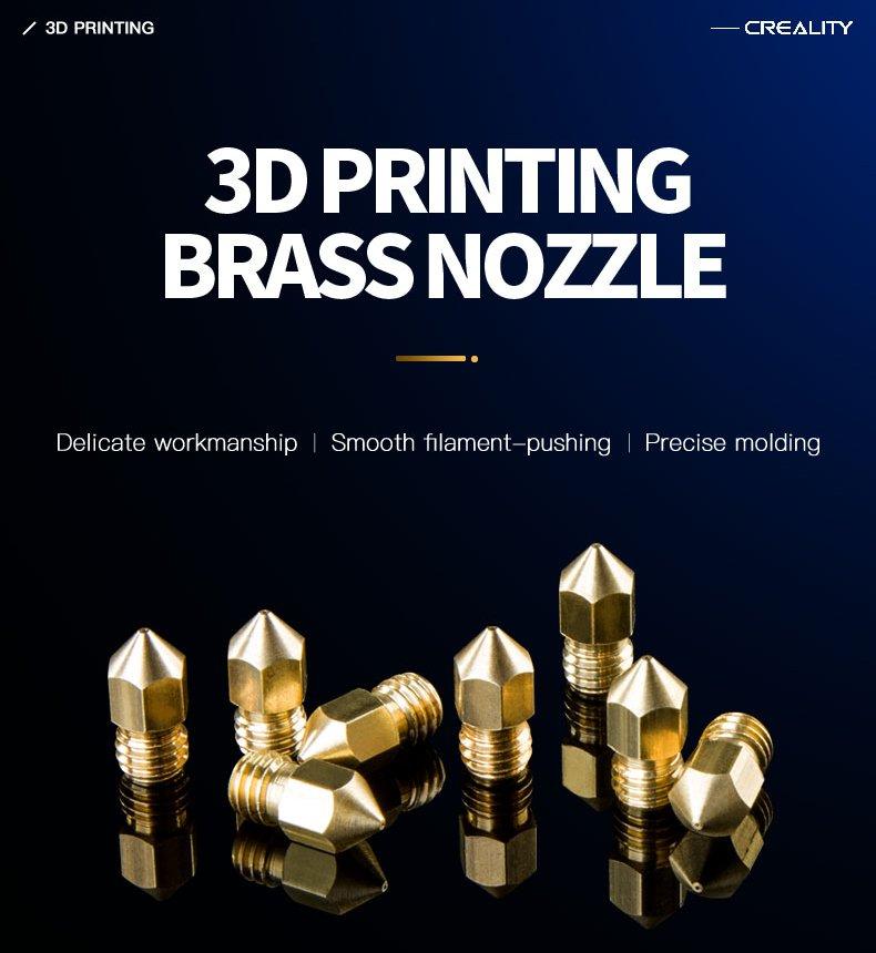 0.4mm Nozzle Kit 3D Printer Parts, 1 set, 5Pc.