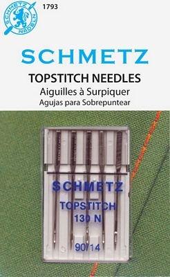 Schmetz Topstitch 5pk sz14/90