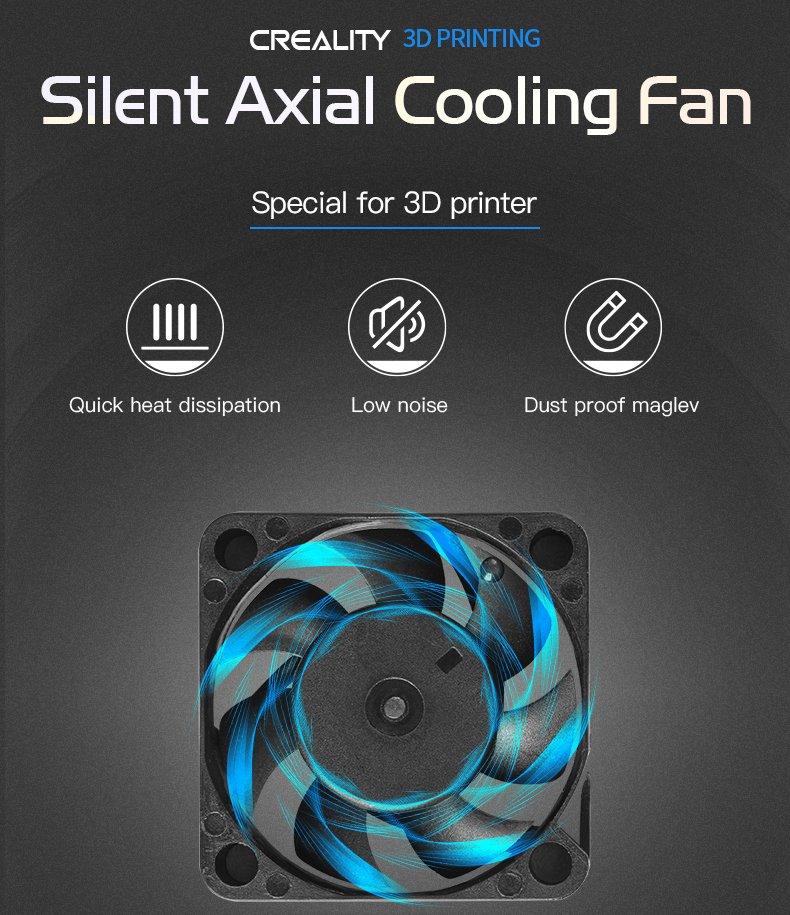 4010 HotEnd Silent Axial Fan