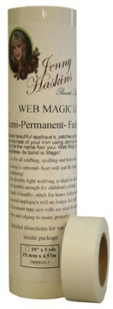 Web Magic Lite, Semi-Permanent Fusible Webbing