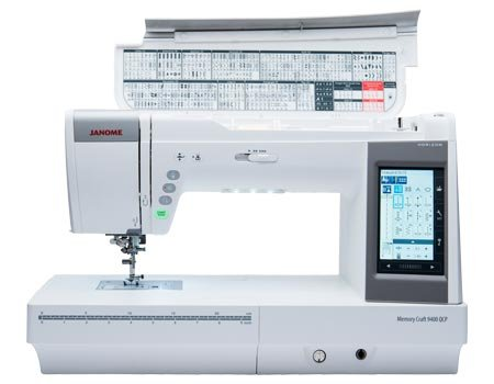 USED JANOME 9400QCP