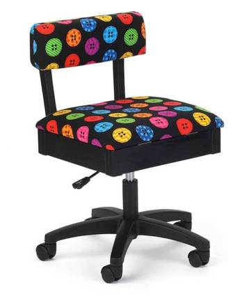 Arrow Bright Buttons Hydraulic Sewing Chair