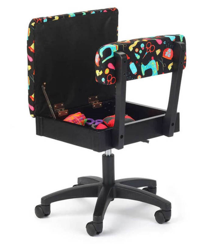 Arrow Sewing Notions Hydraulic Sewing Chair