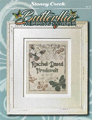 Butterflies Wedding Sampler by Stoney Creek