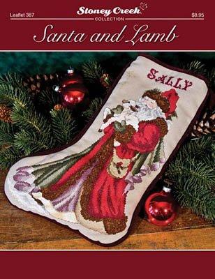 -3- 1217 Santa and Lamb by Stoney Creek