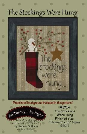 The Stockings Were Hung by All Through the Night
