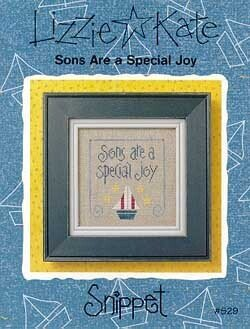 -17- 1219 Sons Are a Special Joy by Lizzie Kate