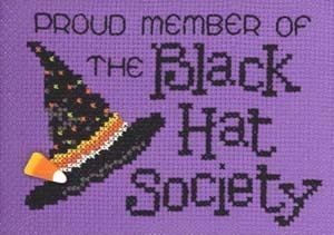 Black Hat Society by Sue Hillis Designs