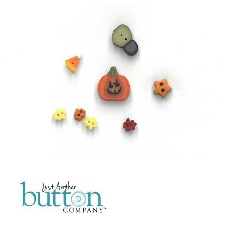 Buttons for Spooky Notes by Just Another Button Company