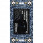 *7* 319 1195-N Navy Panel RPP