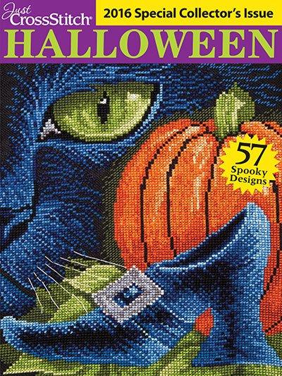 Just Cross Stitch Magazine 2016 Halloween Edition