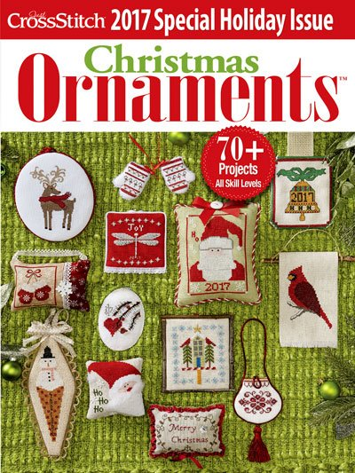 Just Cross Stitch Magazine 2017 Christmas Ornaments Edition