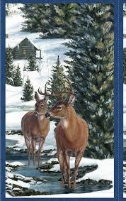 *16* 715 8376 471 Winter Stillness Flannel Panel CPP