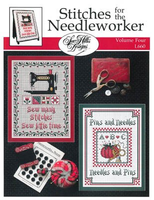 -10- 421 Stitches For The Needleworker Vol. 4 by Sue Hillis Designs