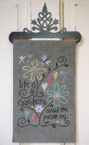 -17- 519 Life is a Garden by SamSarah Design