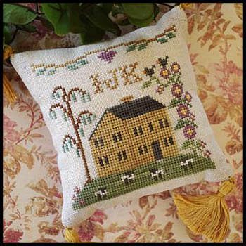 ABC Samplers (No.4 IJK) by Little House Needleworks