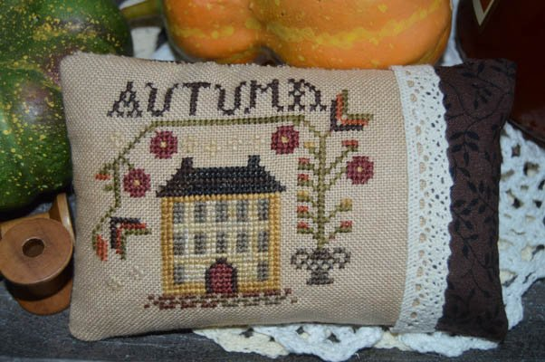 An Autumn Pin Pillow by Abby Rose