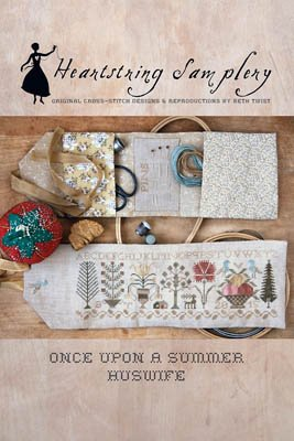 717 Once Upon a Summer Huswife by Heartstring Samplery
