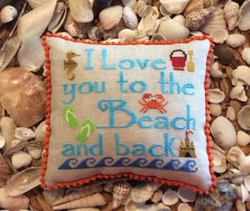-8- 917 To the Beach & Back by Needle Bling Designs