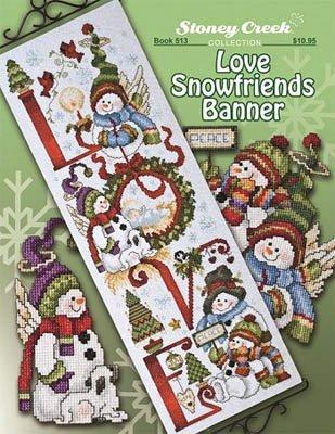 -3- 520 Love Snowfriends Banner by Stoney Creek