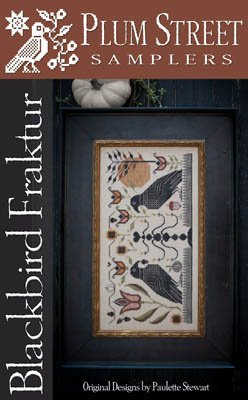 Blackbird Fraktur by Plum Street Sampler 1117