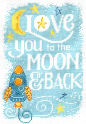 Love you to the Moon by Imaginating