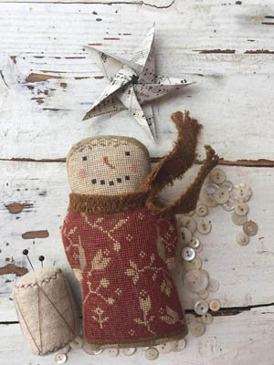 -3- 218 Paisley (Animal Crackers Series) by Stacy Nash Primitives