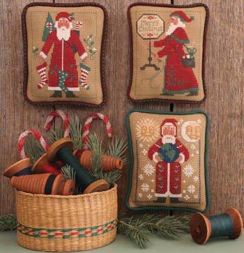 -3- 518 Santa's Revisted 1995 2003 & 2004 by Prairie Schooler