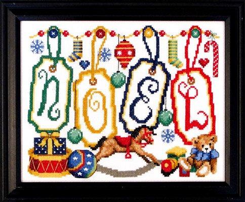 -3- 718 Noel Tags by Bobbie G