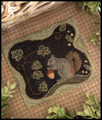 -19- 818 Nutty Buddy (PN) by Little House Needleworks