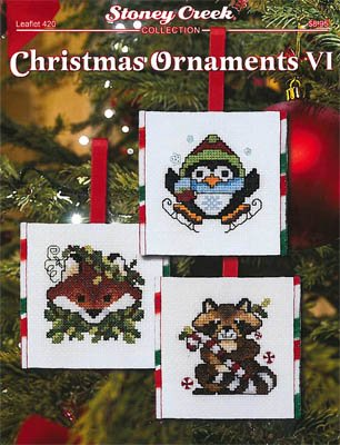 -3- 1118 Christmas Ornaments VI by Stoney Creek