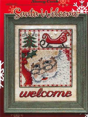 -3- 1118 Santa Welcome by Stoney Creek