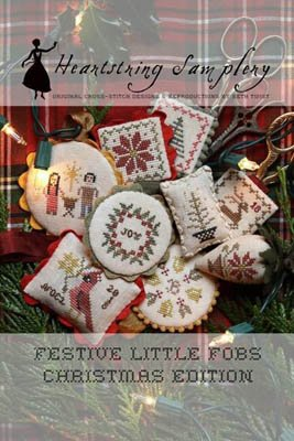 Festive Little Fobs Christmas Edition by Heartstring Samplery