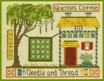 Quilter's Cottage by Elizabeth's Needlework Designs