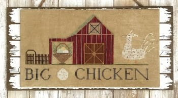 Big Chicken by Lucy Beam Love in Stitches