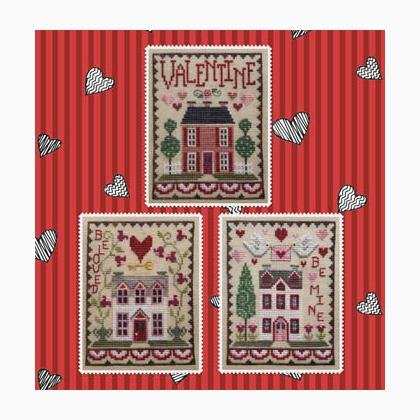 -5- 1219 Valentine House Trio by Waxing Moon