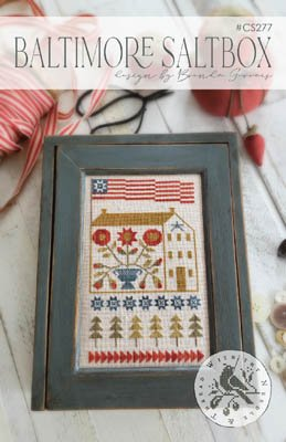 -8- 420 Baltimore Saltbox by With Thy Needle & Thread